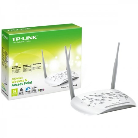 ACCESS POINT TP-LINK TL-WA901ND, 2.4GHZ/450MBPS