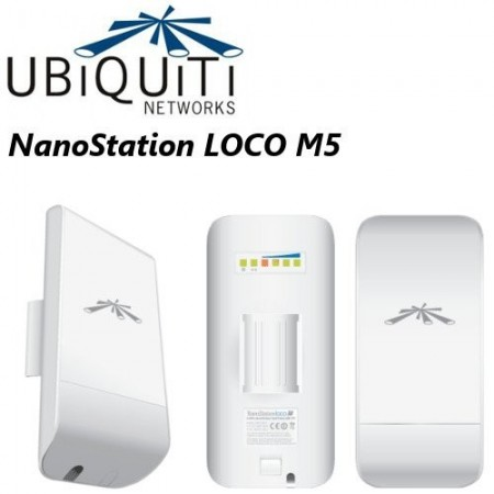 ACCESS POINT UBIQUITI NANOSTATION LOCO M5 AIRMAX