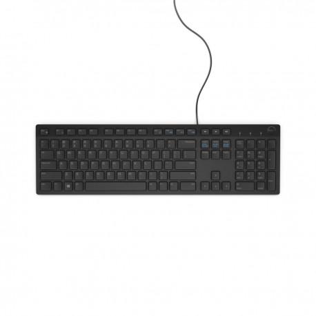 TECLADO DELL KB216 USB, ESPAÑOL, BLACK