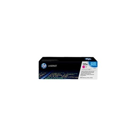 TONER HP 125A CB543A GENUINE MAGENTA 14K CP1215 CP1518IN CP1515N - 1400 PAGES - TRM16BDJ16