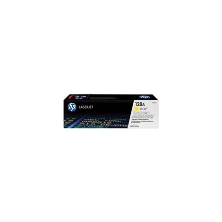 TONER HP 128A Yellow LaserJet Print Cartridge (CE322A) P/ HP LaserJet PrintersCP1525nwHP Multifunction and All-in-One ProductsC