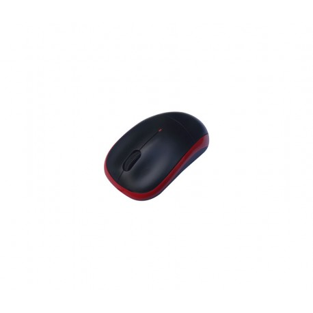 MOUSE AGILER 3D OPTICAL ALAMBRICO, USB ROJO