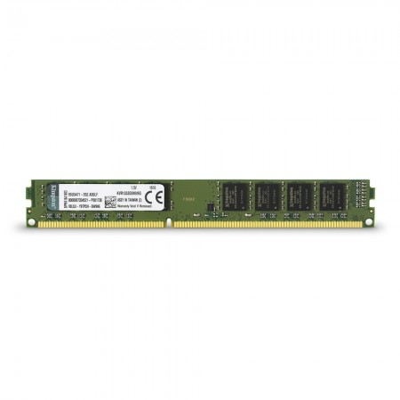 MEMORIA 2GB (1X2GB) KINGSTON, P/DESKTOP, DDR3, 1333MHZ, PC3-10600, NO-ECC.