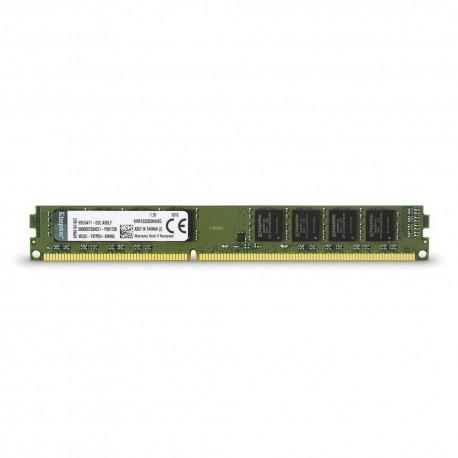MEMORIA 2GB (1X2GB) KINGSTON, P/DESKTOP, DDR3, 1333MHZ, PC3-10600, NO-ECC.