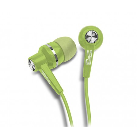 AUDIFONO KLIPX STEREO VERDE EARPHONE IN EAR (DENTRO DEL OIDO)
