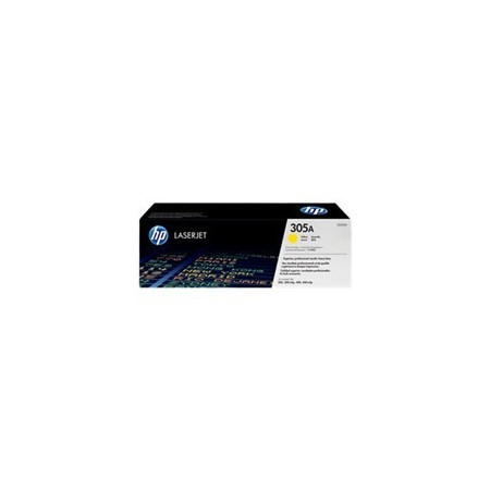 TONER HP 305A - Toner cartridge - 1 x yellow - 2600 pages - for LaserJet Pro 300 color M351a 300 color MFP M375nw 400 color M