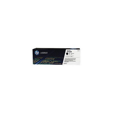 TONER HP 312A - TONER CARTRIDGE - 1 X BLACK - 2400 PAGES - FOR COLOR LASERJET PRO MFP M476NW M476DN Y M476DW
