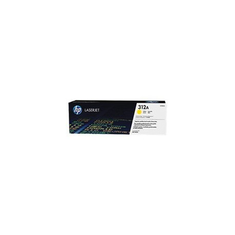 TONER HP 312A - TONER CARTRIDGE - CF382A 1 X YELLOW - 2700 PAGES - FOR COLOR LASERJET PRO MFP M476NW M476DN Y M476DW