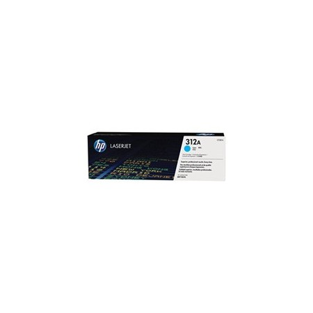 TONER HP 312A - TONER CARTRIDGE -CF381A 1 X CYAN - 2700 PAGES - FOR COLOR LASERJET PRO MFP M476NW M476DN Y M476DW