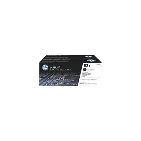 TONER HP 83AD - CF283AD - TONER CARTRIDGE - 2 X BLACK - 1500 PAGES - FOR LASERJET PRO MFP M125NW MFP M127FN MFP M127FW M225D