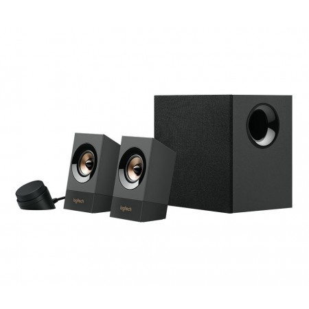 BOCINA LOGITECH Z537 2.1 BLUETOOTH PC MULTIMEDIA SPEAKER SYSTEM- 60 WATTS RMS- 110V (980-0011271)