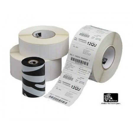 "ROLLO DE PAPEL LABEL ZEBRA DT Z-SELECT 4000D, 2.25X1.25"", TRANSFERENCIA TERMICA, 2100 LABEL POR ROLLO."