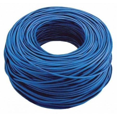 ROLLO DE CABLE UTP NEXXT, CAT-6, 1000 PIES, AZUL.