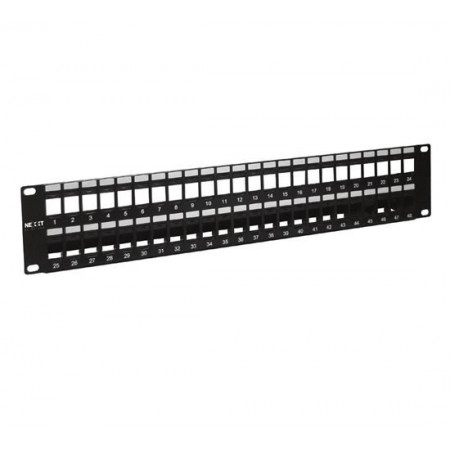 PATCH PANEL DE 48 PUERTOS MODULAR NEXXT
