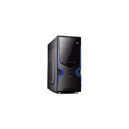 CASE AGILER P4-ATX NEGRO  PANEL 24PIN, SATA,USB X2, POWER 600W (AGI-C007)