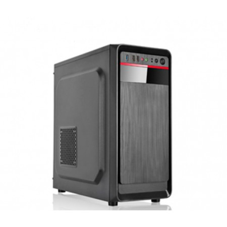 CASE AGILER ATX NEGRO PANEL 24PIN, SATA,USB X2, POWER 600W (AGI-C009)