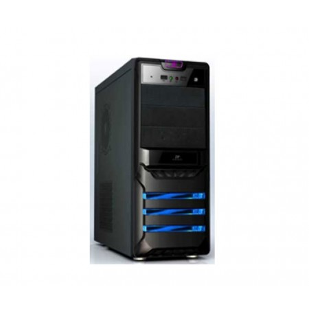 CASE AGILER P4-ATX NEGRO  PANEL 24PIN, SATA,USB X2, POWER 525W (AGI-C006B)