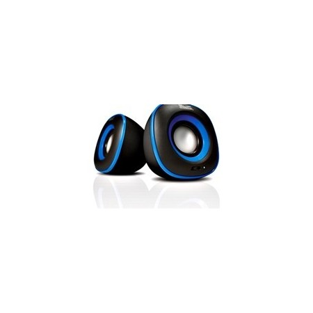 BOCINA KLIPX AZUL 2.0 KES-215A 6W USB Power 3.5mmPlug Blue
