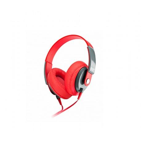 AUDIFONO KLIPX - OBSESSION - STEREO - ROJO - CONTROL DE VOLUMEN KHS-550RD