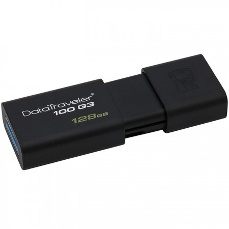 MEMORIA USB 128GB 3.0 KINGSTON, DATA TRAVELER 100 G3