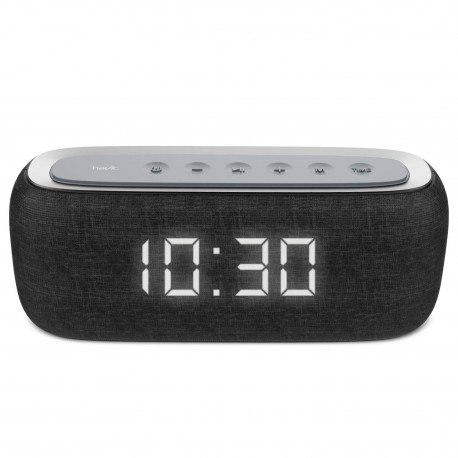 BOCINA HAVIT (Mod.M29) BLUETOOTH,RELOJ ALARMA, RECARGABLE