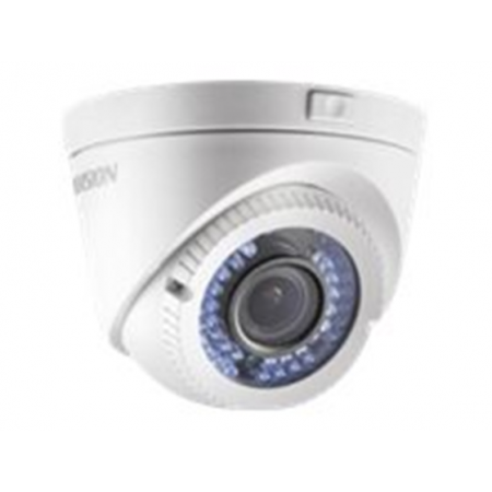 CAMARA DE VIGILANCIA, HIKVISION, ANALOGA, HD720P DOME, 2.8-12MM, 1 MP CMOS IMAGE SENSOR, IP66, VARIFOCAL, METAL