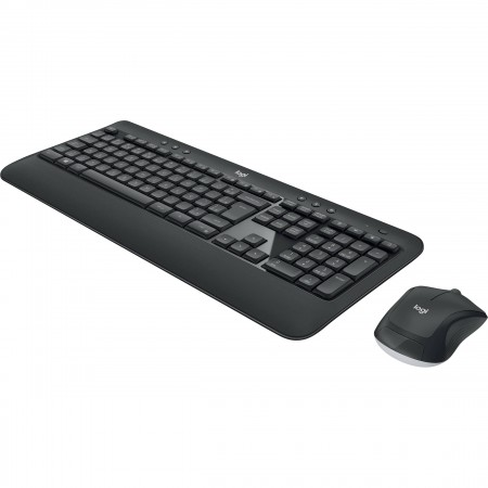 TECLADO MOUSE LOGITECH MK540 USB WIRELESS RECEIVER 2.4GHZ