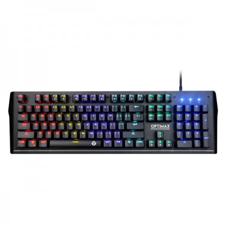 TECLADO Fantech (Mod.MK885 OPTIMAX), 104 Teclas Mecanicas, Waterpro