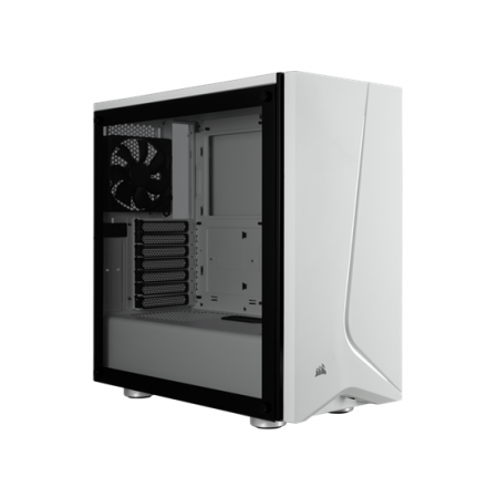 CASE CORSAIR CARBIDE SPEC-06 GAMING, MID TOWER, BLANCO