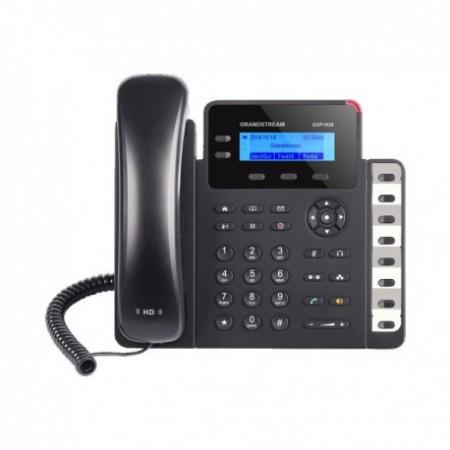TELEFONO IP GRANDSTREAM GXP-1628, 2 CUENTAS SIP, 2 TECLAS DE LÍNEA