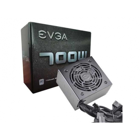 POWER SUPPLY EVGA 700 W1, 100 - 240 VAC, 10