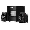 BOCINA MYO HT15 2.1, BLUETOOTH, RADIO FM, LECTOR SD/USB, LED, CONTROL REMOTO NEGRO, CON SUBWOOFER