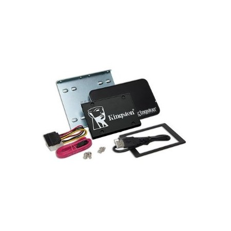 "DISCO DE ESTADO SOLIDO KINGSTON 256GB, SATA3, SSD, 2.5"", NEGRO"