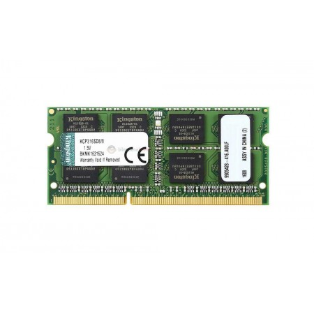 MEMORIA 8GB (1X8GB) KINGSTON, P/LAPTOP, 1600MHZ,