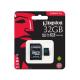 MEMORIA MICROSD 32GB KINGSTON, SDHC, CLASE 10 UHS-1