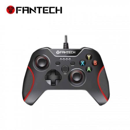 CONTROL DE JUEGOS FANTECH (Mod.GP11-ROJO) PARA PC/PS3, NEGRO
