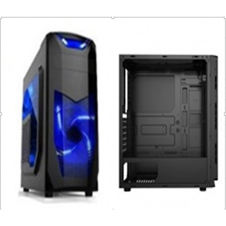 CASE XCON GAMING (Mod.CL-X3B)-2x LED fans AZUL- 650W POWER SUPPLY-ATX