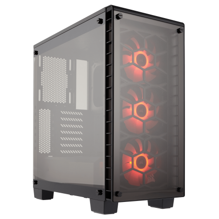 CASE CORSAIR CRISTAL 460X, MID TOWER, BLACK, USB 3.0 X2, AUDIO IN