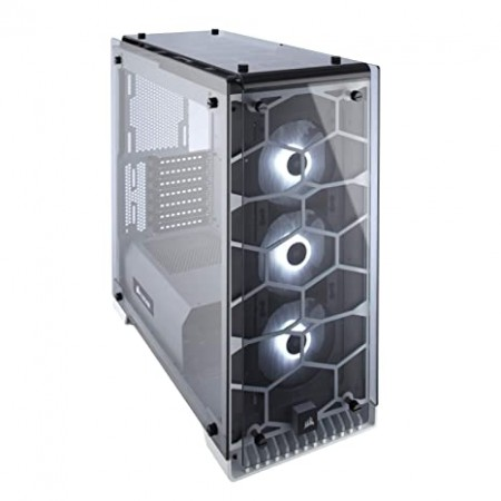 CASE CORSAIR CRISTAL 570X RGB MIRROR, MID TOWER, NEGRO,