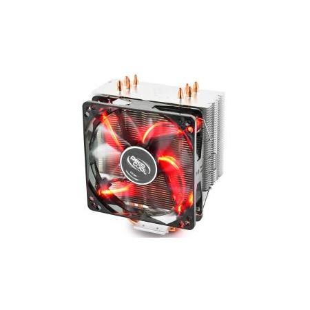 FAN COOLER DEEP COOL (Mod.GAMMAXX 400 V2) LED ROJO