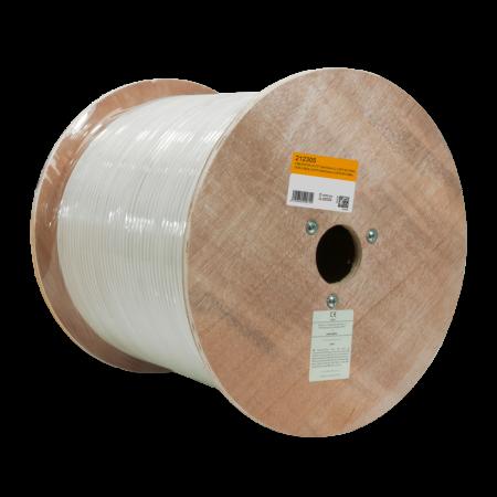CABLE VENLOGIC 22/4, 7*0.15mm Copper , MULTIFIBRA, 500 Pies, BLANCO