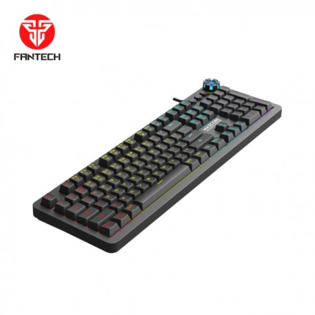 TECLADO Fantech (Mod.MK852 MAXCORE NEGRO), 104 Teclas Mecanicas,RGB color