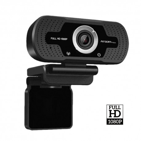 CAMARA WEB ARGOM CAM40 - FULL HD, 1080P MICRÓFONO INTEGRADO