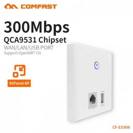 REPETIDOR AP COMFAST (Mod.CF-E536N-U) 300Mbps,WIFI,POE