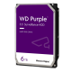 "DISCO DURO 6TB P/VIDEOVIGILANCIA WESTERN DIGITAL PURPLE, 3.5"" SATA"