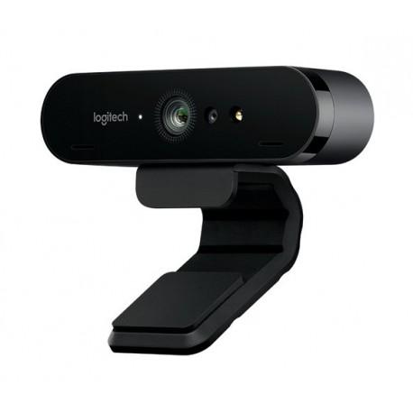 CAMARA WEB LOGITECH BRIO - ULTRA HD HASTA 4K