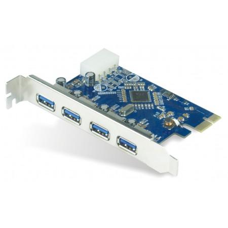 TARJETA AGILER PCI-E USB 3.0 4 PUERTOS
