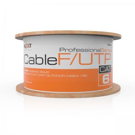 ROLLO DE CABLE F/ UTP NEXXT, CAT6, 1000 PIES, PARA EXTERIOR (AB356NXT07)