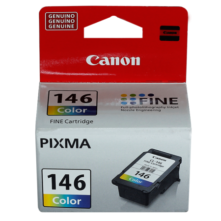 CARTUCHO CANON CL-146 COLOR COMPATIBLE CON PIXMA MG2410