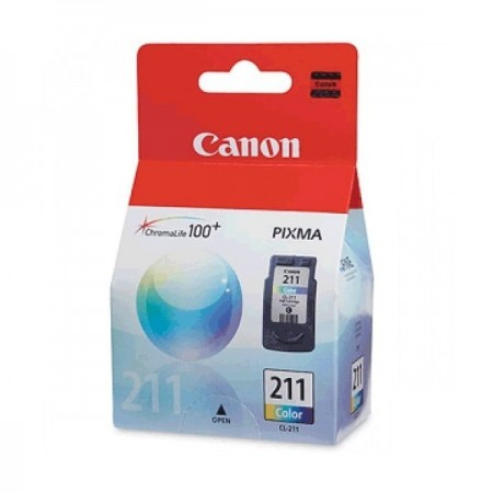 CARTUCHO CANON CL-211 COLOR COMPATIBLE CON PIXMA MP230 MP240 MP250480 IP2700